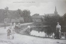 La mare au coeur du village Conteville (60)